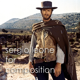 sergio leone | composition