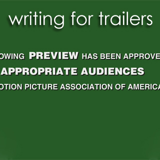 trailers | for writing